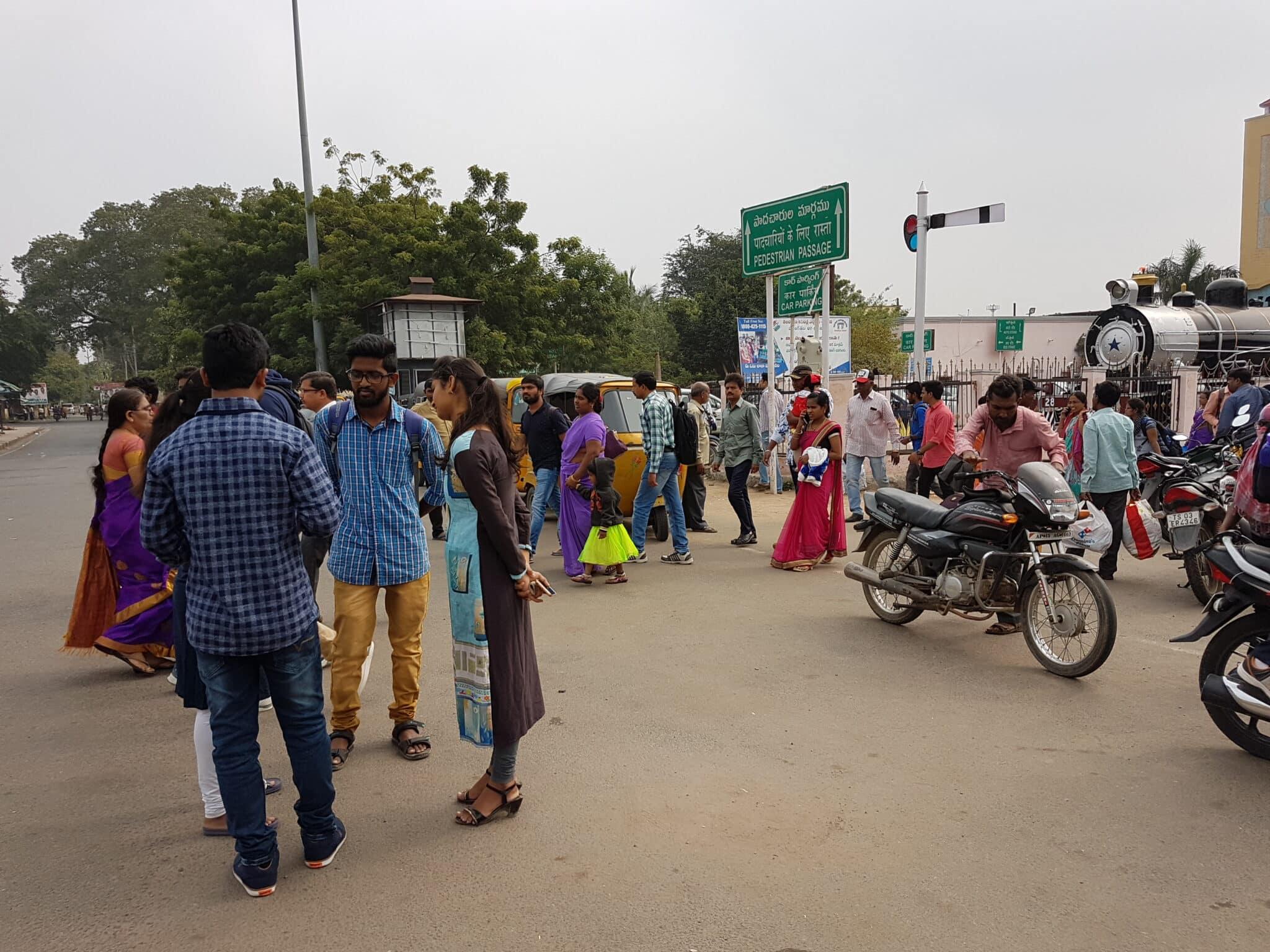 Foto mobil in Indien