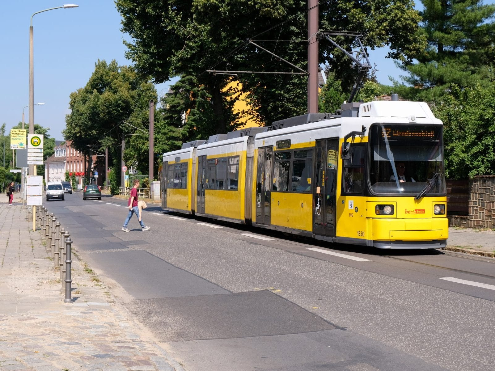Foto Straßenbahn Mahlsdorf
