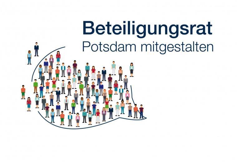 Grafik Beteiligungsrat Potsdam