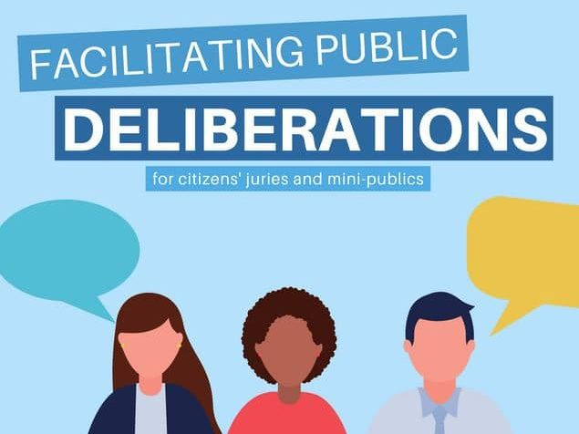 Grafik Facilitating public deliberations
