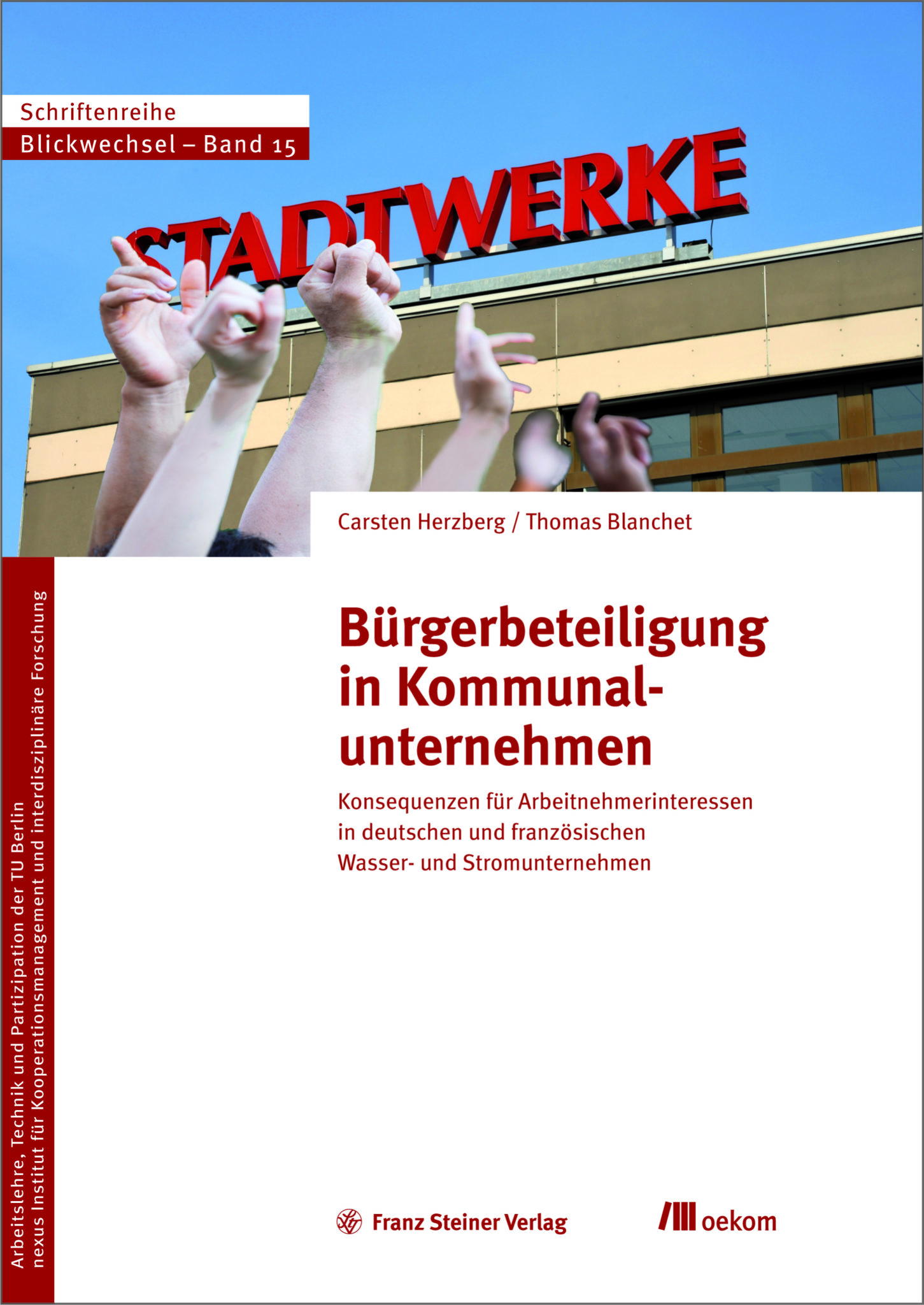 Cover Publikation Bürgerbeteiligung in Kommunalunternehmen