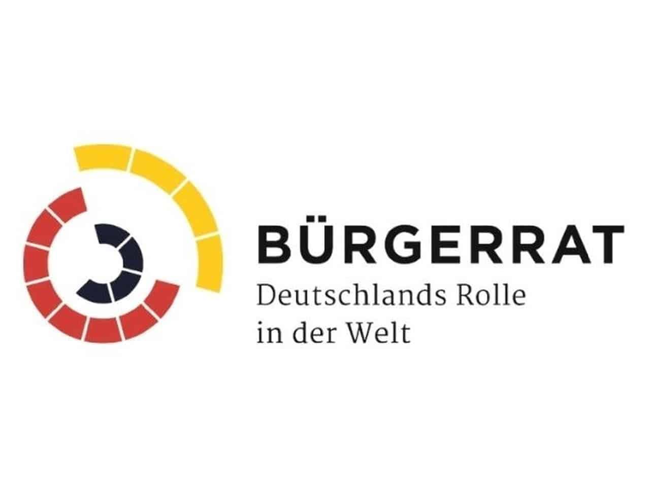 Logo Bürgerrat Rolle in der Welt