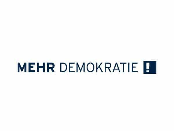 Mehr Demokratie e.V. Logo
